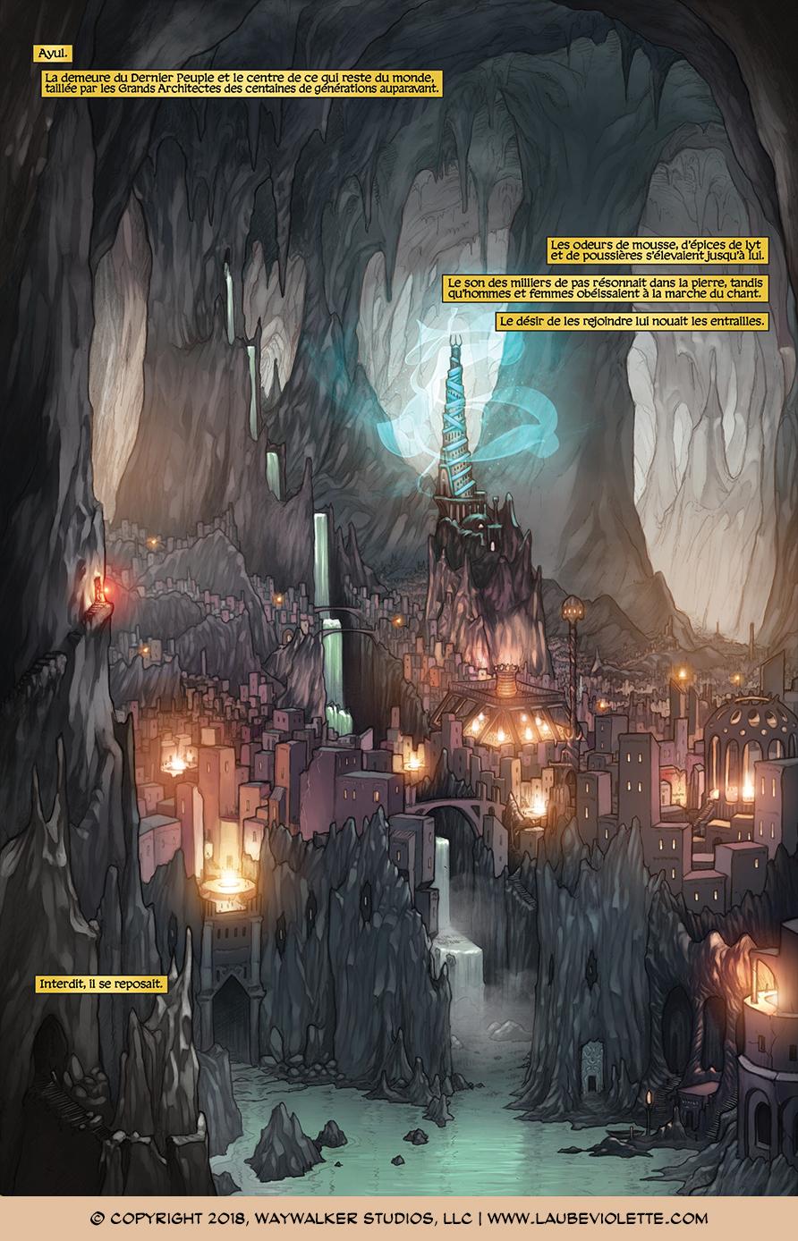 L'Aube Violette: L'Exil – Tome 1, Page 6