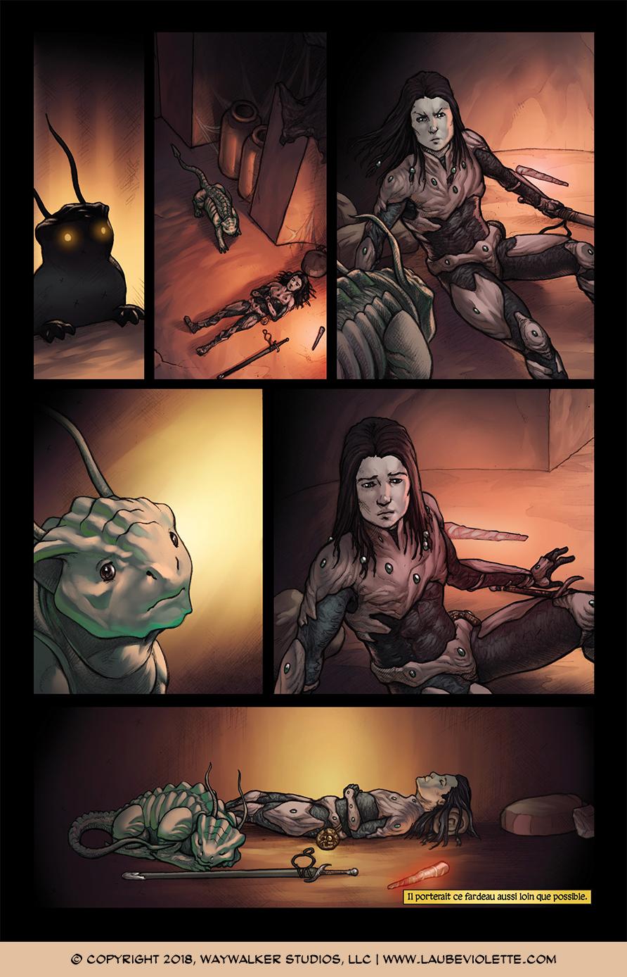 L'Aube Violette: L'Exil – Tome 1, Page 11
