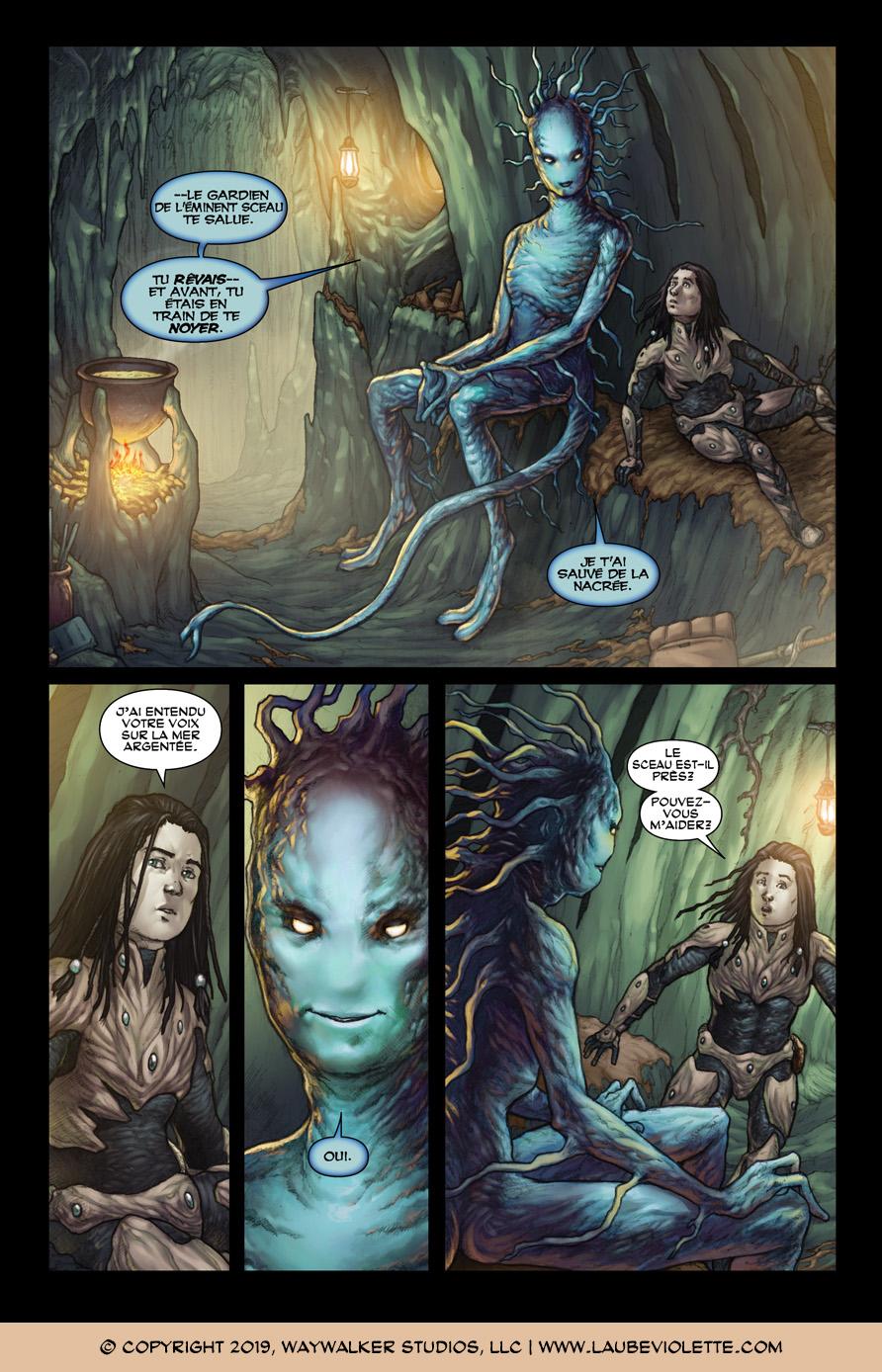 L'Aube Violette: L'Exil – Tome 3, Page 2
