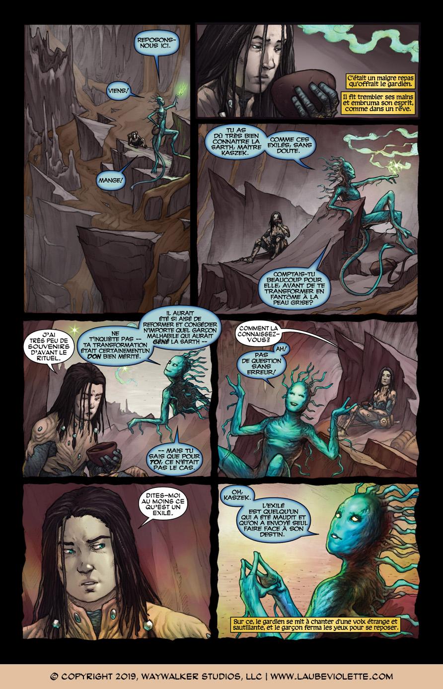 L'Aube Violette: L'Exil – Tome 3, Page 5