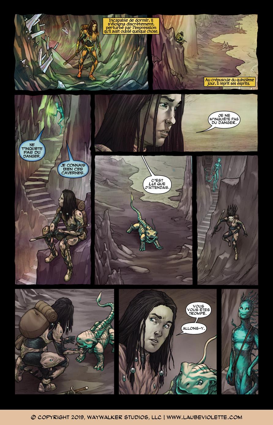 L'Aube Violette: L'Exil – Tome 3, Page 6