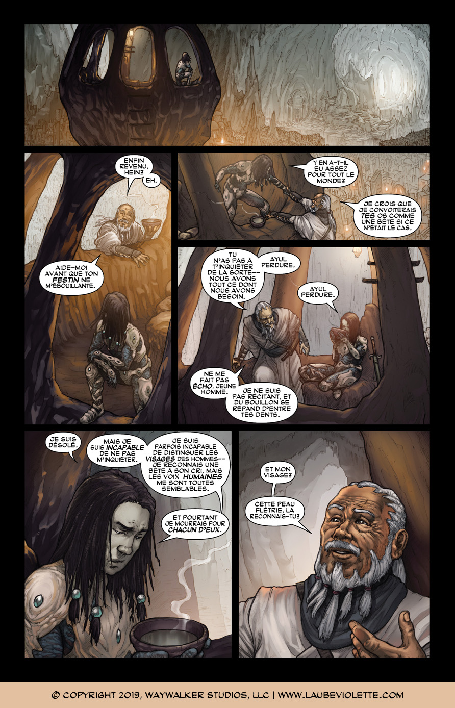 L'Aube Violette: L'Exil – Tome 4, Page 3