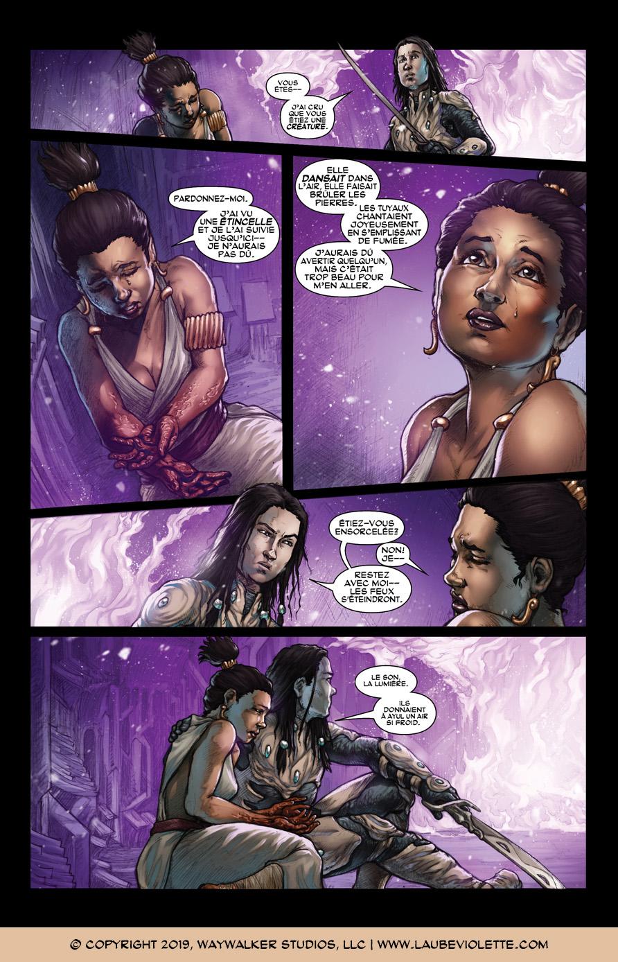 L'Aube Violette: L'Exil – Tome 4, Page 8