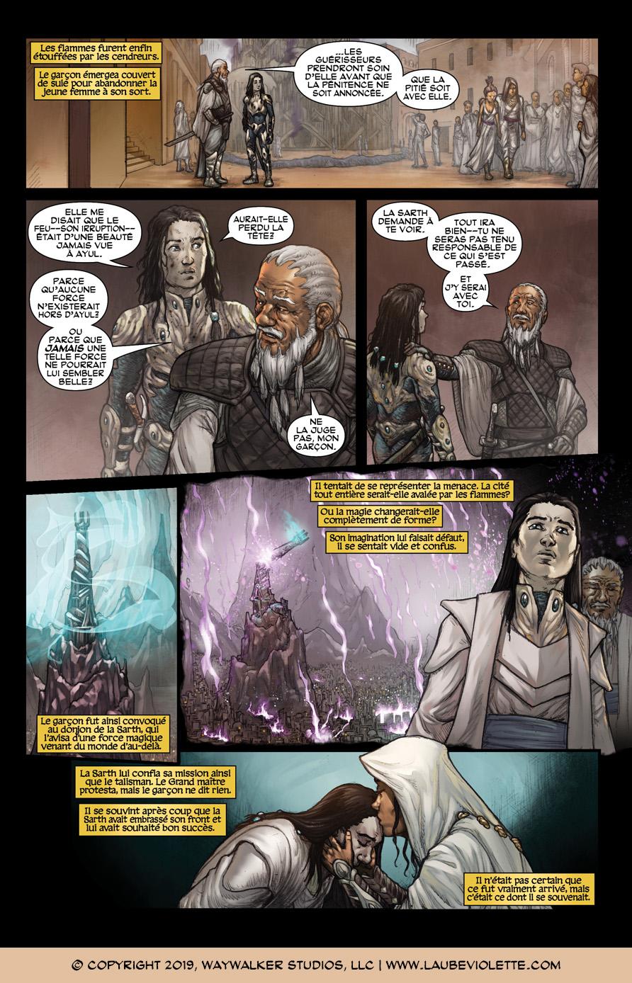 L'Aube Violette: L'Exil – Tome 4, Page 9
