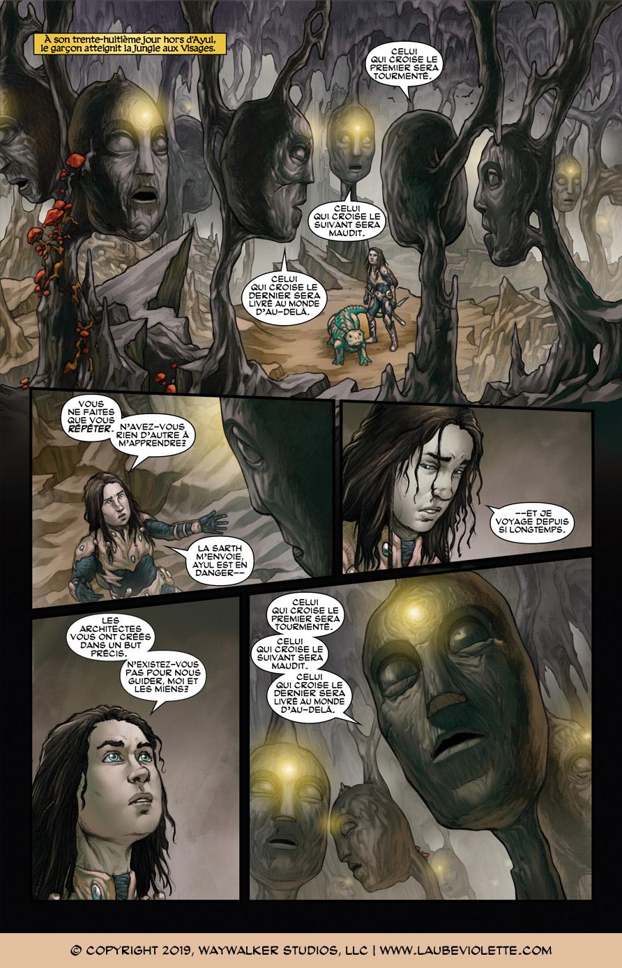 L'Aube Violette: L'Exil – Tome 5, Page 1