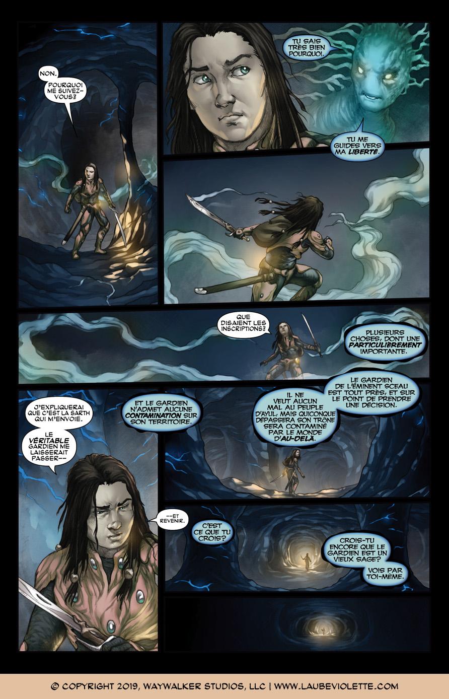 L'Aube Violette: L'Exil – Tome 5, Page 10