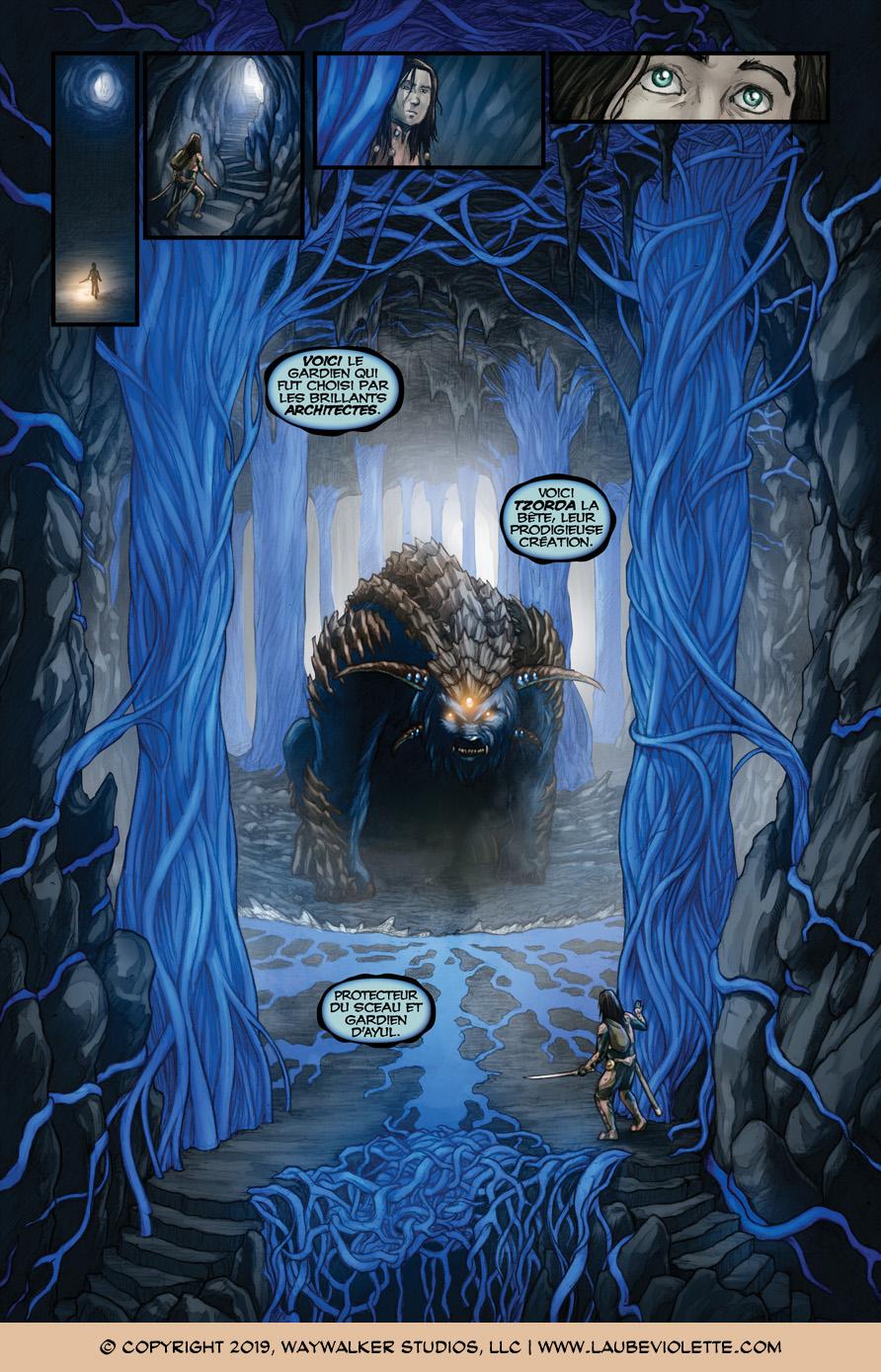 L'Aube Violette: L'Exil – Tome 5, Page 11