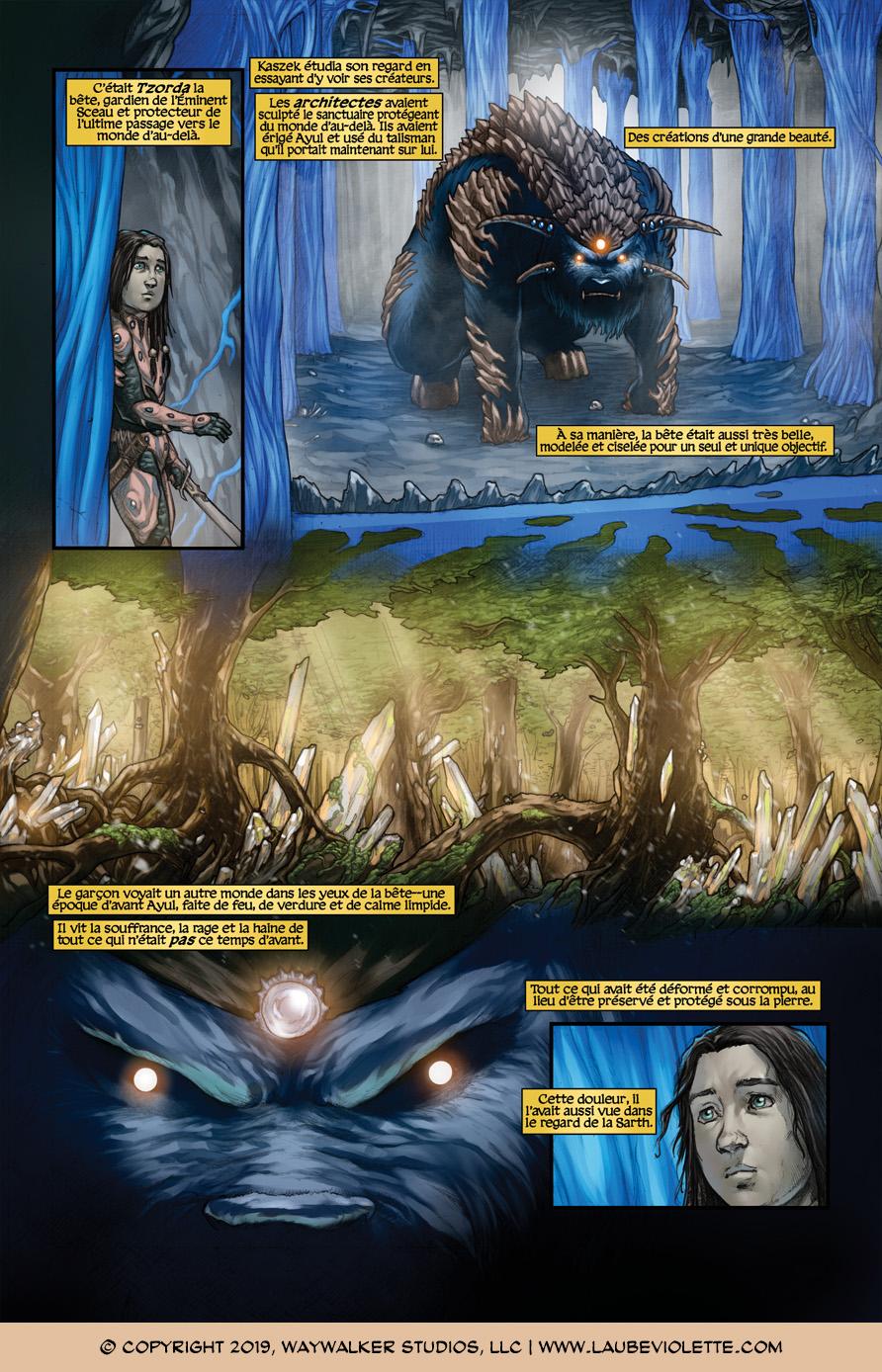 L'Aube Violette: L'Exil – Tome 6, Page 1