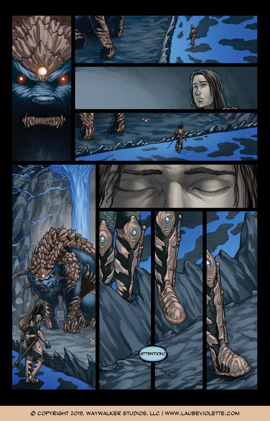 L'Aube Violette: L'Exil – Tome 6, Page 3