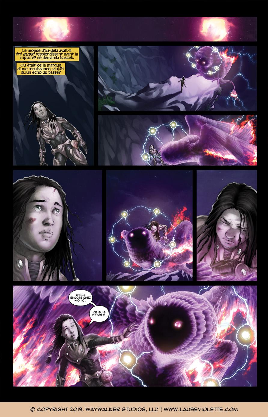 L'Aube Violette: L'Exil – Tome 7, Page 9