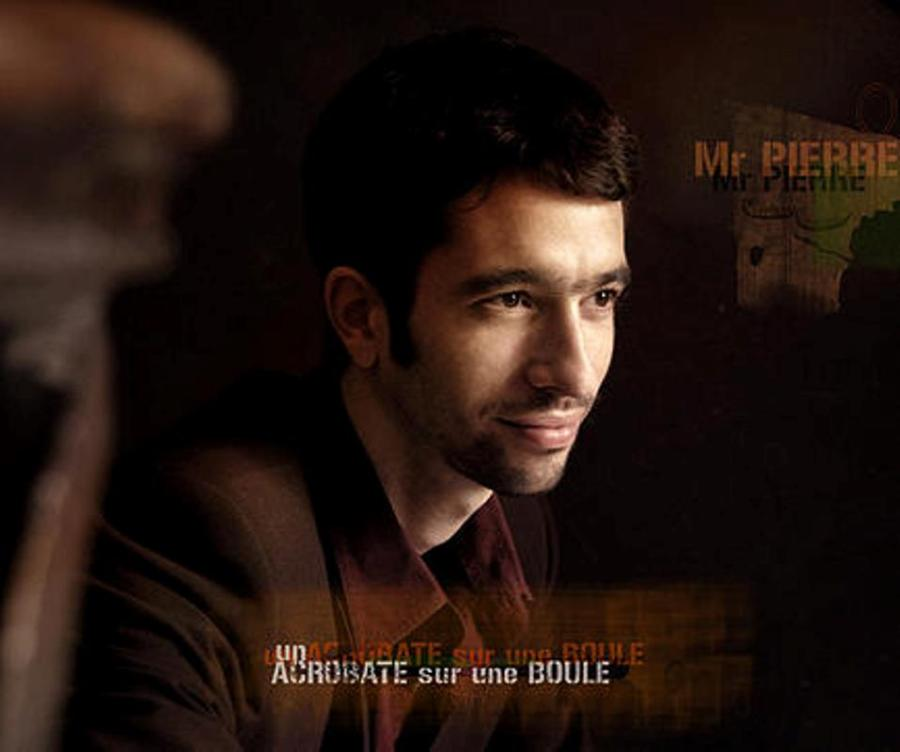Pochette Album_Un acrobate sur une boule_Monsieur PIERRE