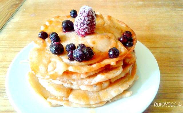 vegane Pfannkuchen - schnell zubereitet und supe lecker!