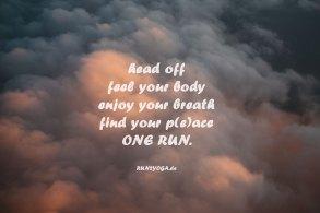 Laufen und Yoga - RUN2YOGA