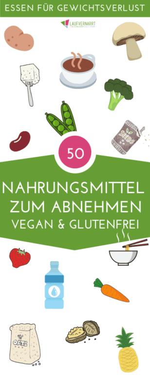 Willst du abnehmen, aber weißt nicht, welche Lebensmittel dafür geeignet sind? Hier erhältst du eine Liste mit den 40 besten Nahrungsmitteln zum Abnehmen - sie alle sind vegan, glutenfrei, laktosefrei und gesund. Damit sind sie geeignet für jede Ernährungsumstellung!