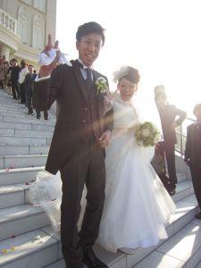 Bさん 結婚式1
