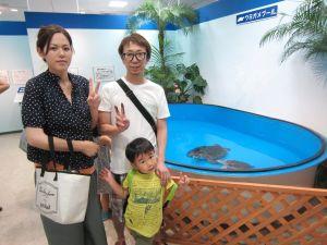 高島屋 水族館 カメ