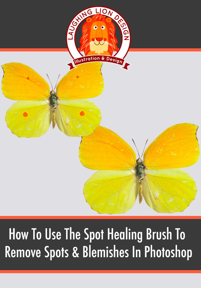 How To Remove Spots & Blemishes With The Spot Healing Brush Tool In Photoshop