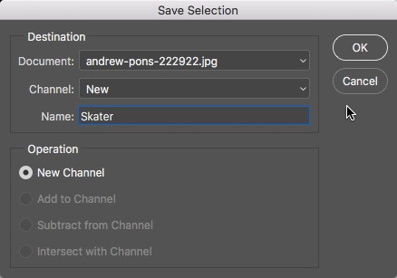03 - Save Selection in Photoshop