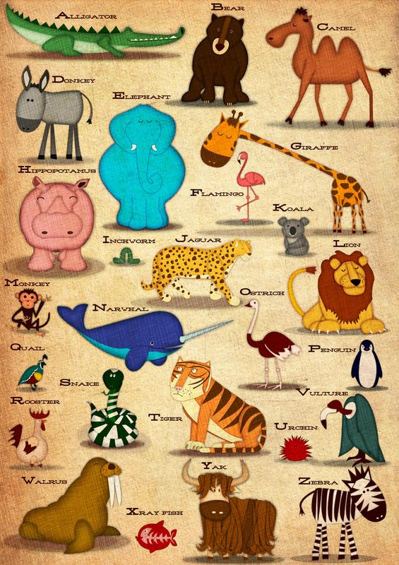 Jennifer Farley Wildlife Illustration