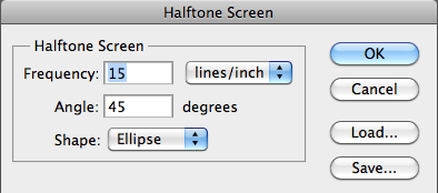 5 - Halftone Screen Options