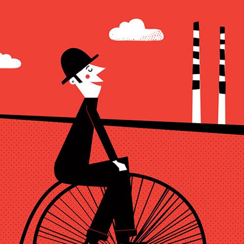Nice Day For A Cycle – Damn Fine Dublin