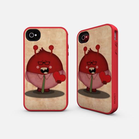 Valentine Monster Kovet iPhone Case