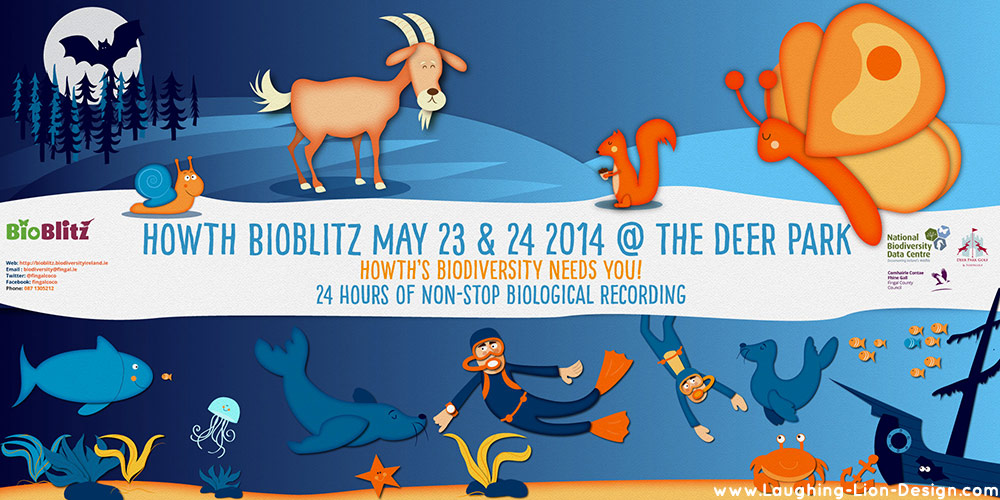 Bioblitz Nature Illustration and Design by Jennifer Farley