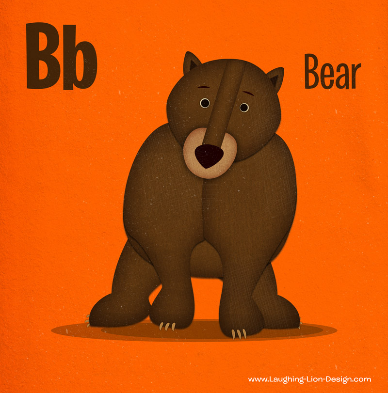 Jennifer-Farley-Animal-ABC-Bear