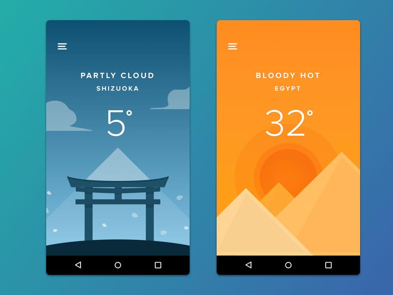 Shapes-Weather-App-Disky