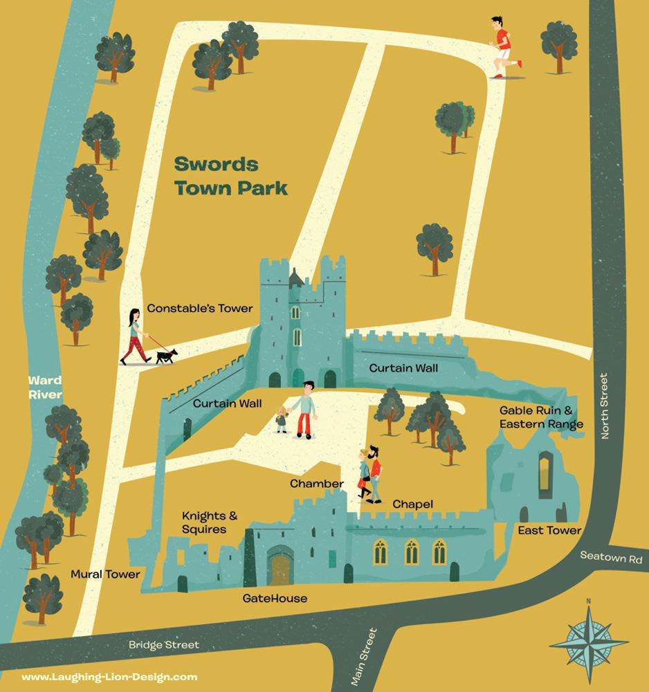 Swords Castle Map