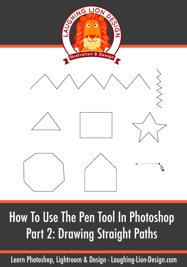 Beginners Guide To Using The Pen Tool In Photoshop: Part 2 – Drawing Straight Paths