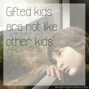 Gifted kids are not like other kids