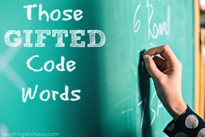 Those Gifted Code Words