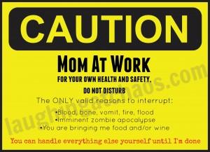 Do Not Disturb Mom