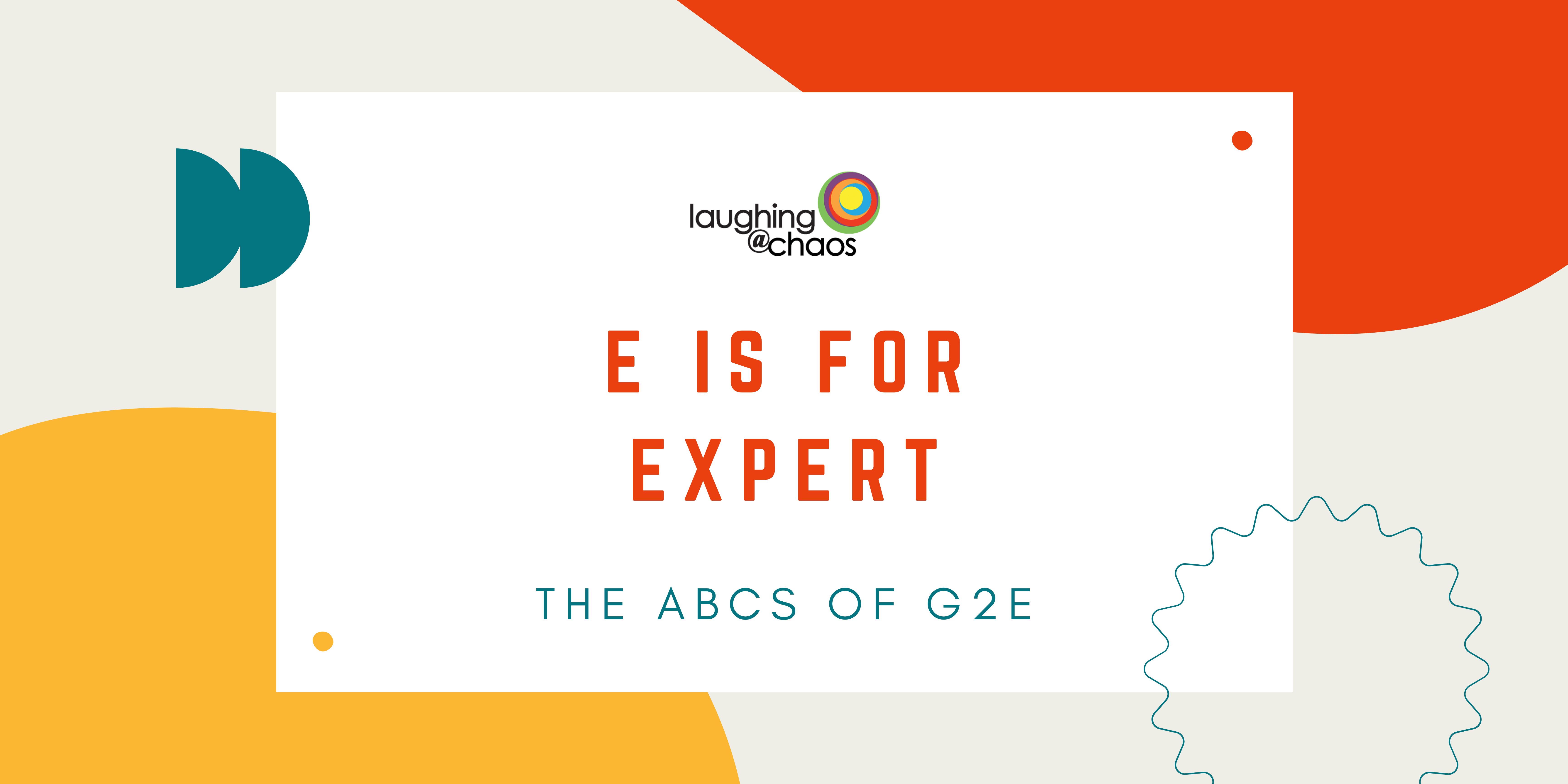 E is for Expert