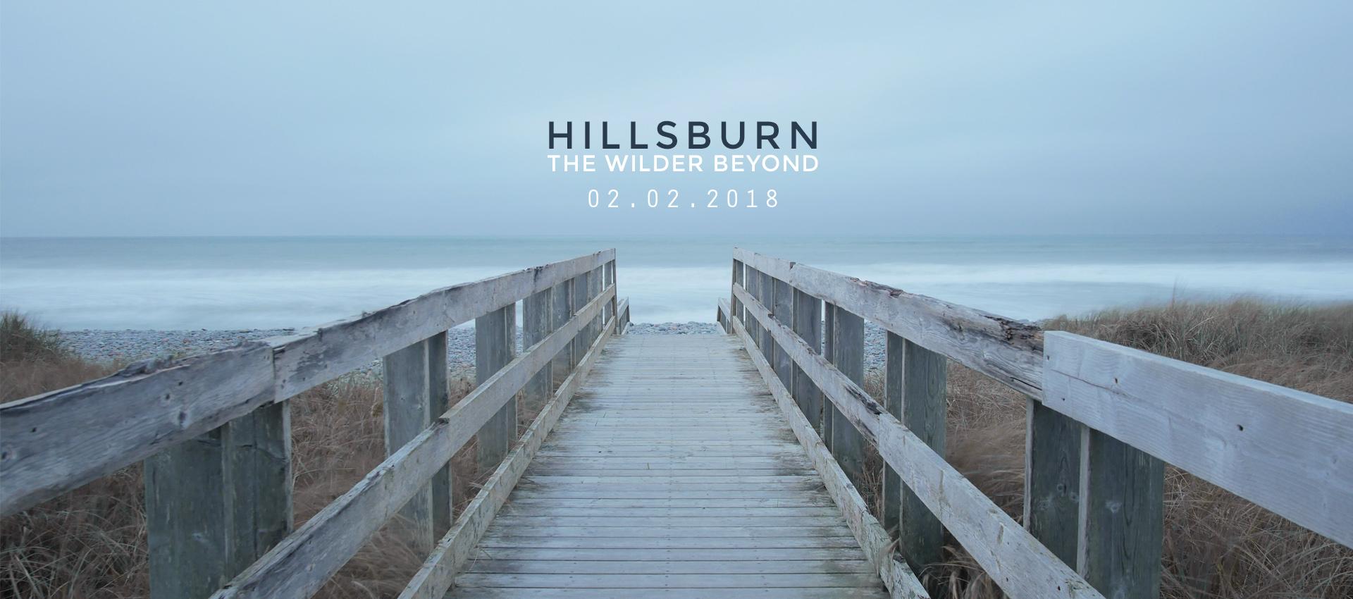 Hillsburn - The Wilder Beyond - Out February 2, 2018