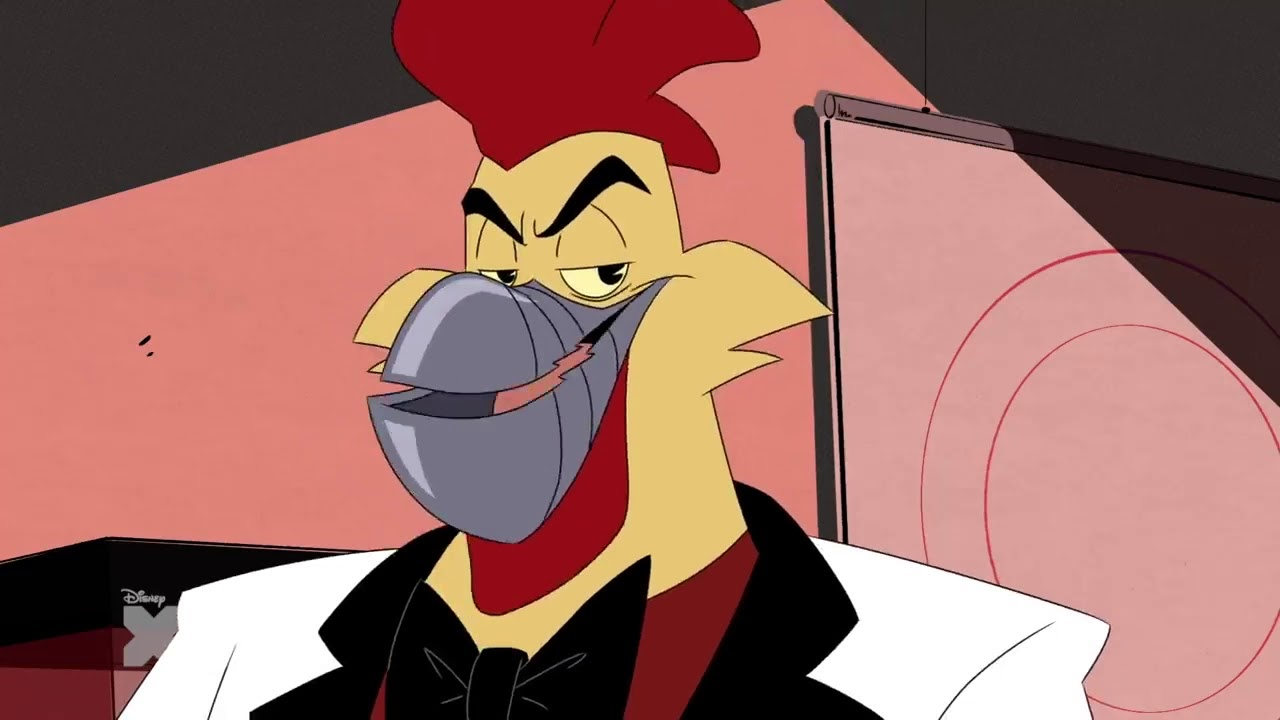 Steelbeak in DuckTales Season 3, Episode 3, double-o-duck-in-you-only-crash-twice