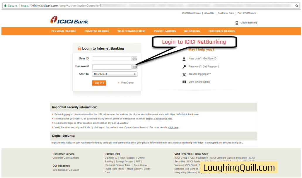 How to apply for IPO via ICICI Bank NetBanking (ASBA)-01