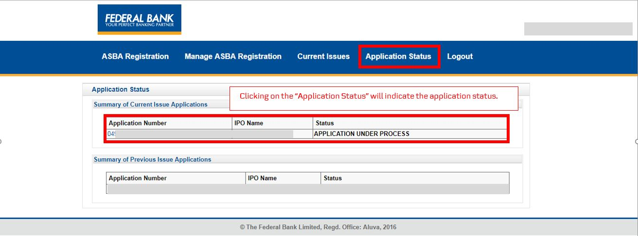 How to apply for IPO via Federal Bank NetBanking (ASBA)-13