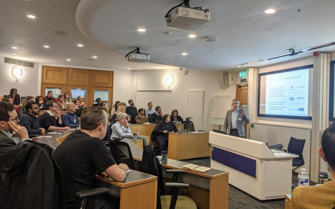 Presenting on Softer Skills at London Business School