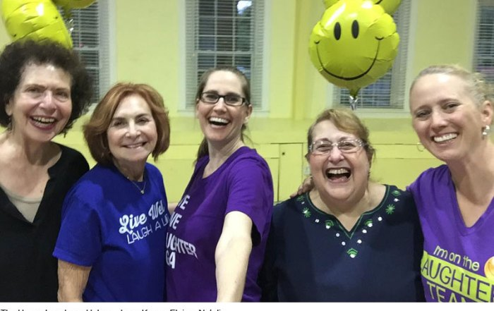 Laughter Yoga with Karen - Cherry Hill NJ