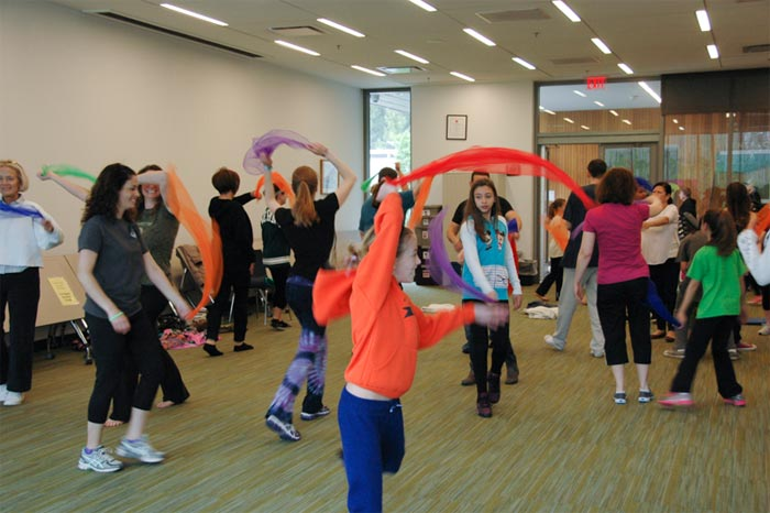 Laughter Yoga with Karen at Hockessin Public Library, Hockessin, DE