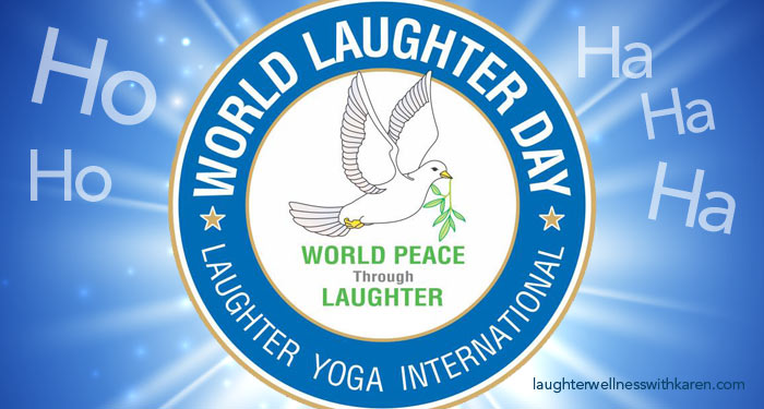 Laughter Yoga - World Laughter Day - Laughter Wellness with Karen