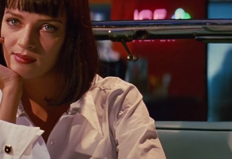 Mia Wallace and 90s minimalism in Pulp Fiction