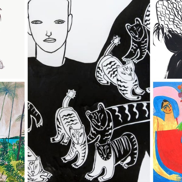 5 of the best artists I discovered on Instagram.