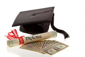 College diploma, college costs, financial aid