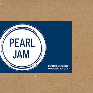 Pearl Jam 2009 Bootleg series Mixer