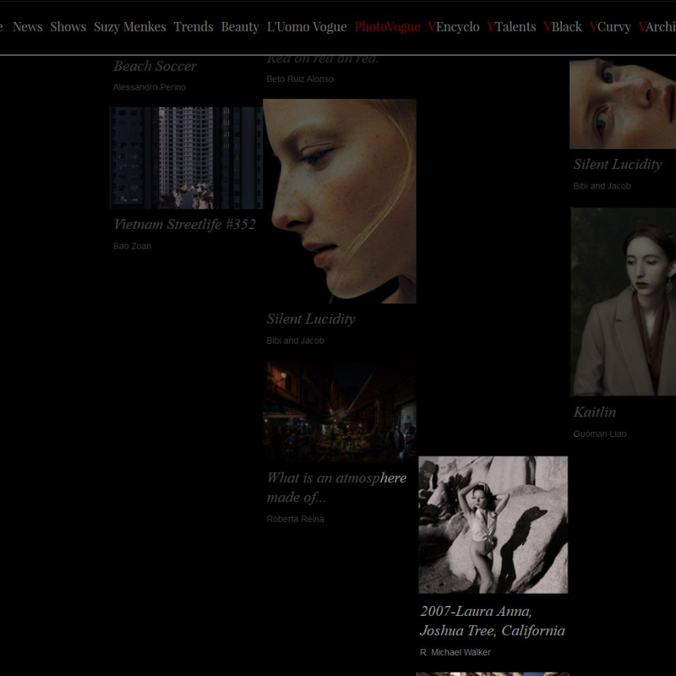 Besta images of Vogue Italia