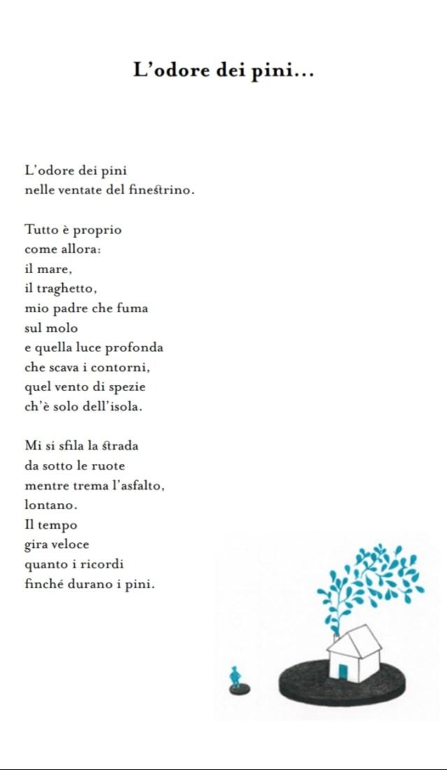 Poesia L'odore dei pini