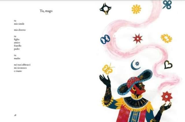 Poesia e illustrazione Tu mago